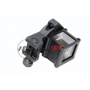 Around The Corner Angle Aiming Sight QR Positive Lock for Airsoft BK SC-0158A