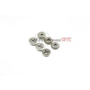 SHS Steel 8mm Bushing's with Cross Grease Well SHS-211