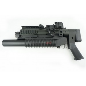 Standalone Long Grenade Launcher Full Set with 4 Position Sliding Stock S0003S