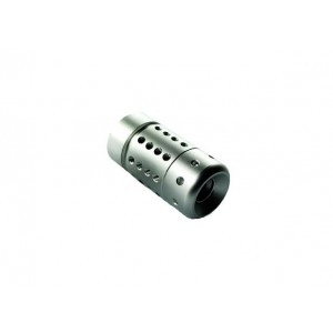 Thunder Airsoft Fing-A Adjustable Compensator Sliver AL-10SL