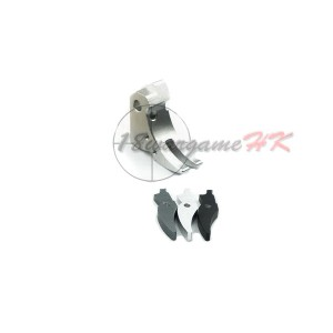 Thunder Airsoft CNC Aluminum Trigger Set for G17 /G18C Silver TA-07SL