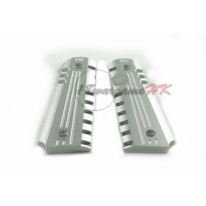 Army Force Aluminum Pistol Grip for M1911 GBB Silver AF-GR001S