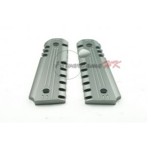 Army Force Aluminum Pistol Grip for M1911 GBB Grey AF-GR001G