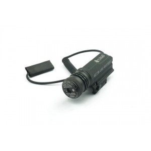 532nm Red Laser Pointer with Tail & Built-In 20mm Mount LA-JG10A