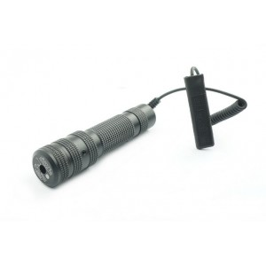 532nm Green Laser Pointer with Button, Tail & 20mm Mount LA-JG038
