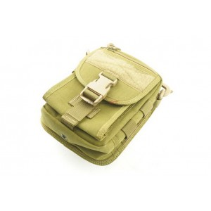 1000D Utility Bag with Molle and Sling DE Bag-0062L