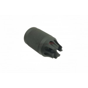 Army Force Steel Diablo Type Flash Hider for Airsoft (14MM/CCW) AF-FL0039