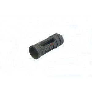Army Force Steel Angled Phantom Type Flash Hider for Airsoft (14MM/CCW) AF-FL0051