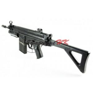 L&H G3 SAS Foldable Stock Metal Body AEG SMG Rifle (M3A2) LH